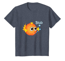 Load image into Gallery viewer, Puffer Fish T-Shirt funny Trendy Balloonfish Tee for Kids