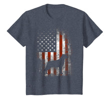 Load image into Gallery viewer, Rottweiler T-Shirt American Flag Patriotic 4th Of July