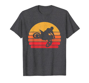 Retro Dirt Bike Rider T-Shirt | MX Motocross Ride Shirt Gift