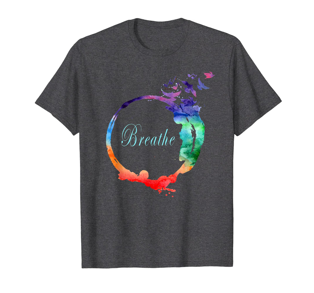 Breathe Shirt Cool Heavenly Breath Nature Yoga Tee Gift