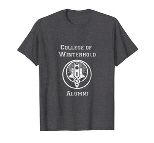 College of win-al t-shirt men women