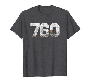 Area Code 760 shirt - Palm Springs California t-shirt