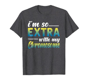 down syndrome extra chromosome t shirt gift boy girl kids