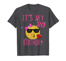 Load image into Gallery viewer, It's My 20th Birthday Shirt 20 Years Old 20th Birthday Gift