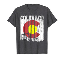 Load image into Gallery viewer, Colorado Oilfield Oil Field Rig Worker Distressed T Shirt