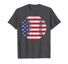 Load image into Gallery viewer, American Flag Baseball Shirt July 4th USA Men Women Kids