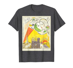 Le Dimanche (On Sundays) 1954 T Shirt, Marc Chagall Artwork