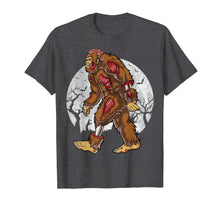 Load image into Gallery viewer, Bigfoot Zombie T shirt Halloween Kids Men Sasquatch Zombies