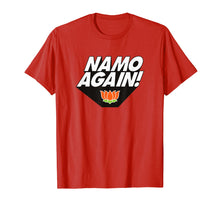 Load image into Gallery viewer, Namo Again Modiji 2019 Narendra Modi BJP Lotus T-shirt