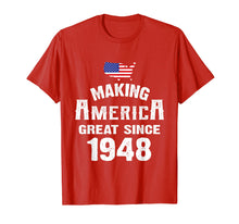Load image into Gallery viewer, Make America Great Since 1948 71st Year Old 71 Birthday Gift