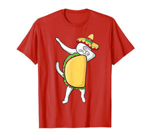Dabbing Taco Cat Tacocat Shirt Cinco De Mayo Party Kids