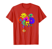 Load image into Gallery viewer, 60s & 70s Retro Flower Power T Shirt
