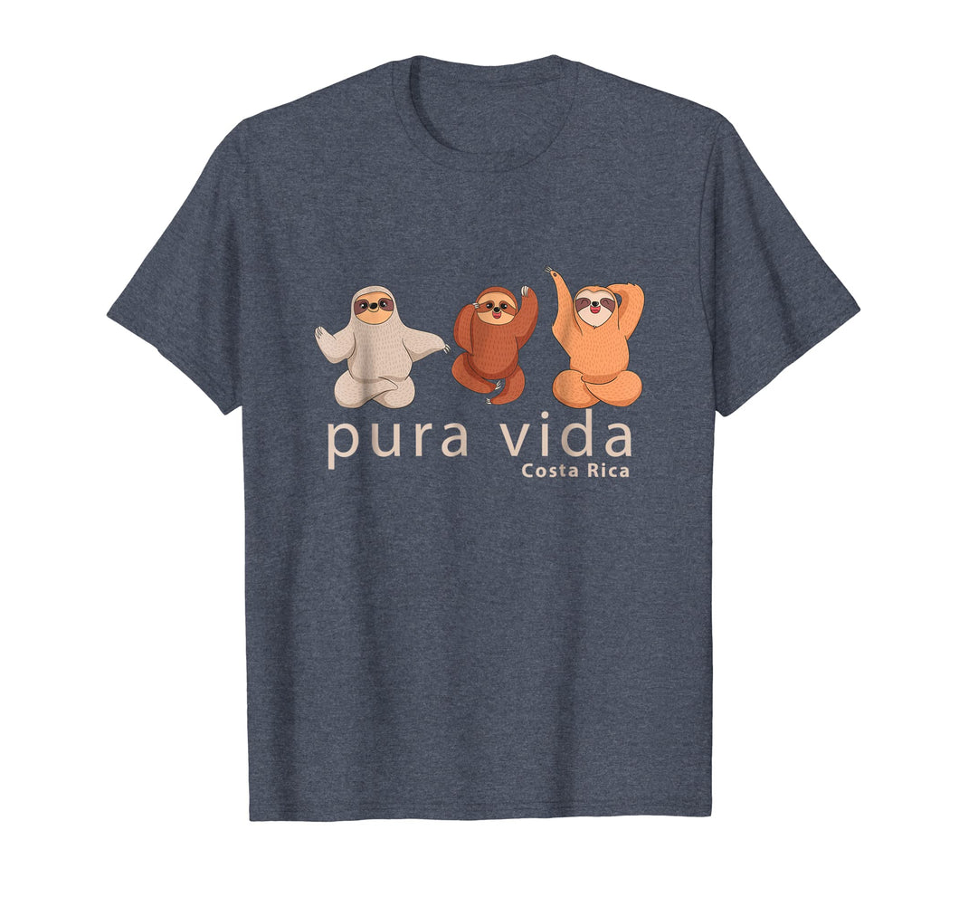 Costa Rica Sloth T Shirt