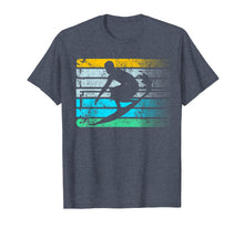 Load image into Gallery viewer, Cool Surfing Vintage Retro Silhouette Distressed Tee Shirt