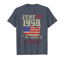 Load image into Gallery viewer, Born In June 1998 Birthday T-Shirt