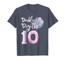 Load image into Gallery viewer, Double Digits Girls 10 Year Old Birthday Shirt