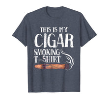 Load image into Gallery viewer, Mens This Is My Cigar Smoking T-Shirt Funny Cigar Smoker T Shirt