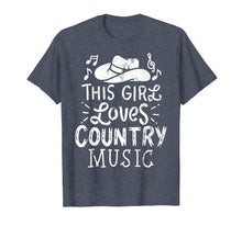 Load image into Gallery viewer, Country Music Lover T-Shirt Western Hat Tee Musician Shirt