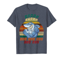Load image into Gallery viewer, Daddy Shark T-shirt Doo Doo Doo Gifts for Father Dad