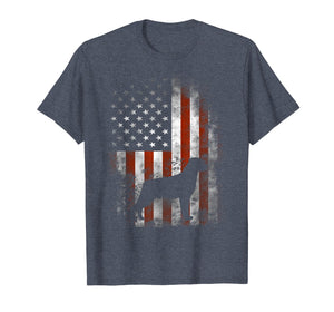 Rottweiler T-Shirt American Flag Patriotic 4th Of July