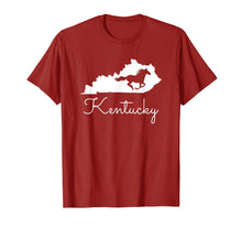 Load image into Gallery viewer, Kentucky Horse Map State Shirt