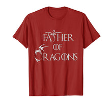 Load image into Gallery viewer, Mens Father of Dragons T-shirt