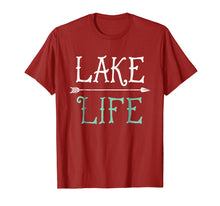 Load image into Gallery viewer, Lake Life T shirt Fishing Boating Sailing Funny Outdoor Tee