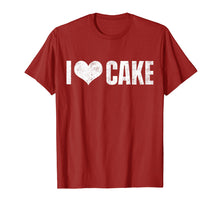 Load image into Gallery viewer, I Love Cake T-Shirt