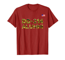 Load image into Gallery viewer, DD-214 Alumni T shirt Retirement Military Discharge DD214