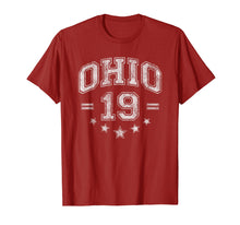 Load image into Gallery viewer, Retro Vintage Ohio Shirt 2019 Sports University