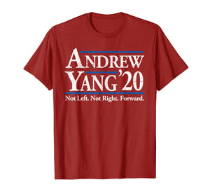 Andrew Yang 2020 Shirt Vintage Reagan Bush '84 in Red  T-Shirt