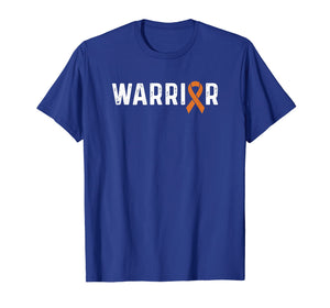 CRPS Awareness Products RSD Orange Ribbon Warrior T-Shirt
