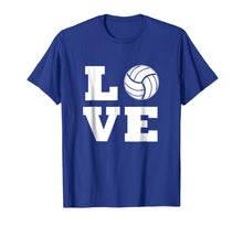 Load image into Gallery viewer, I Love Volleyball T-Shirt - Volleyball Lovers T-Shirt