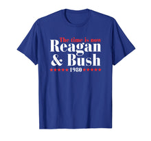 Load image into Gallery viewer, Reagan Bush 80 Ronald Reagan 1980 Campaign T-Shirt