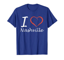 Load image into Gallery viewer, I love Nashville T-shirt Tee Tees T Shirt Tshirt