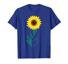 Load image into Gallery viewer, Let It Be Sunflower Hippie Gypsy Soul Lover Vintage T-Shirt