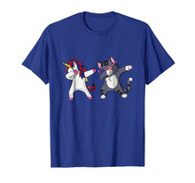 Load image into Gallery viewer, Dabbing Unicorn Dab Cat Cute 4th of July T Shirt Kids Gift