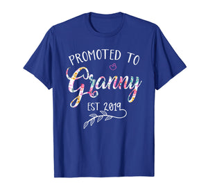 Promoted to Granny Est 2019 Mothers Day Grandma T-Shirt