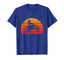 Load image into Gallery viewer, Dirtbike Motocross T Shirt Vintage Retro Sunset 70s 80s