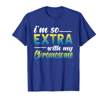 Load image into Gallery viewer, down syndrome extra chromosome t shirt gift boy girl kids