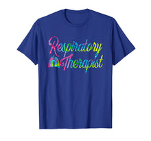 Load image into Gallery viewer, Respiratory Therapist RT Care Week Tie Dye T-Shirt