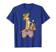Load image into Gallery viewer, Cinco de Meow Cat Unicorn Pinata T Shirt Tacos Mexico Kids