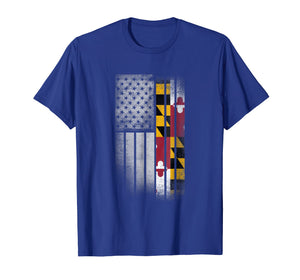 PREMIUM MARYLAND State Tshirt MARYLAND Home State Tee