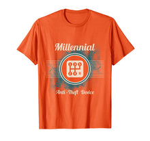 Load image into Gallery viewer, Automotive Millennial T-Shirt Gear Shift, Anti Theft Vehicle