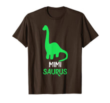 Load image into Gallery viewer, Mimi-Saurus Funny Dinosaur Gift Mother's Day T-Shirt