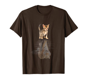 BENGAL CAT SHADOW BENGAL TIGER SHIRT