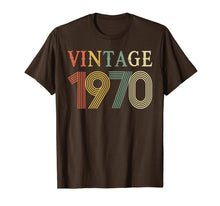 Load image into Gallery viewer, Retro Vintage 1970 T-Shirt 48 Years Old Birthday Shirt
