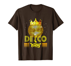 Disco King 1970s Vintage 70s Dance Party Gift T-Shirt