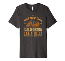 Load image into Gallery viewer, John Muir Trail California Backpacking Trail Hiking T-Shirt