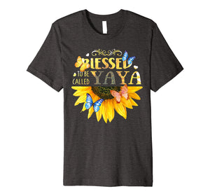 Blessed To Be Called YaYa -Sunflower tee